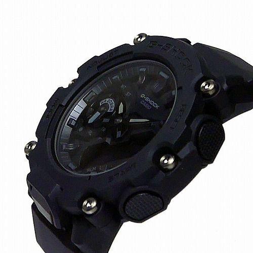カシオGショック アナログ・デジタル腕時計  GA-2200BB-1AJF メンズ カーボンコアガード構造  国内正規品