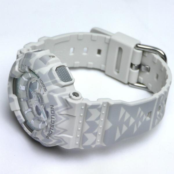カシオ ベビーG アナ・デジ 腕時計  BA-110TP-8AJF Tribal Pattern Series レディース 限定品 国内正規品