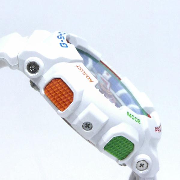 カシオGショック白 アナログ・デジタル腕時計  GA-110MC-7AJF クレイジーカラーズ メンズ 限定品 国内正規品