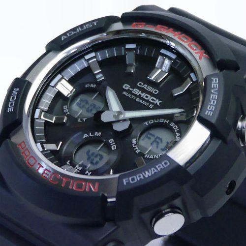 カシオGショック アナログ・デジタル ソーラー電波腕時計  GAW-100-1AJF メンズ 国内正規品 【動画有】