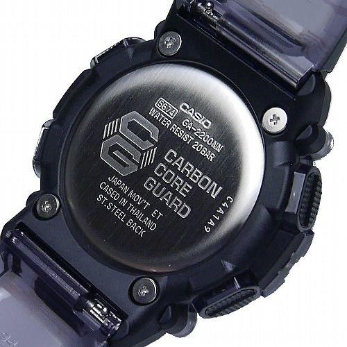 カシオGショック アナログ・デジタル腕時計  GA-2200-2AJF メンズ カーボンコアガード構造  国内正規品