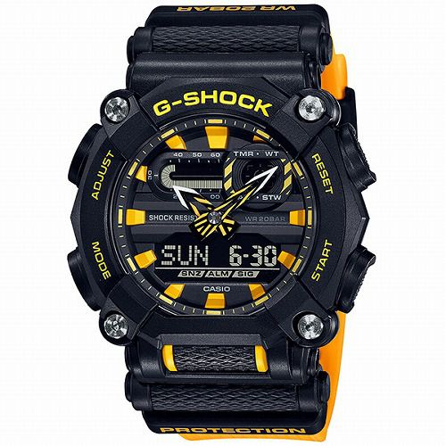 カシオGショック アナログ・デジタル腕時計 GA-900A-1A9JF メンズ 国内正規品