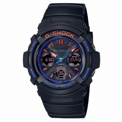 カシオGショック ソーラー電波腕時計 AWG-M100SCT-1AJF メンズ City Camouflage Series 国内正規品