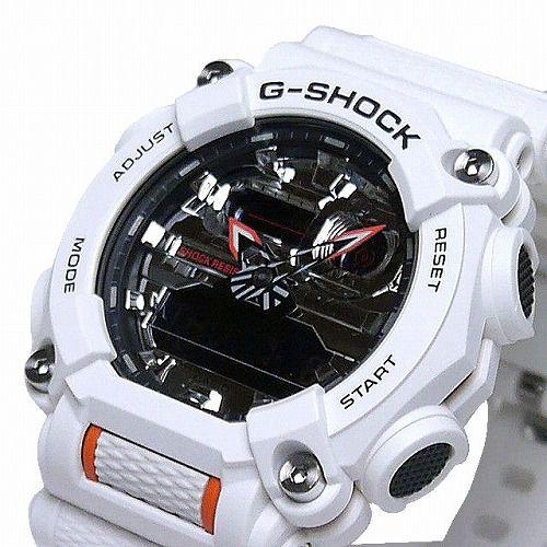カシオGショック アナログ・デジタル腕時計 GA-900AS-7AJF メンズ 国内正規品