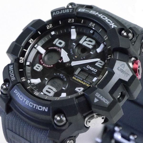 カシオGショック マッドマスター ソーラー電波腕時計  GWG-100-1A8JF メンズ 国内正規品