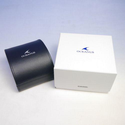 カシオ オシアナス マンタ Bluetooth搭載 ソーラー電波腕時計   OCW-S4000-1AJF メンズ 3年保証 国内正規品