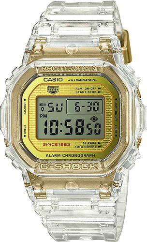 カシオGショック デジタル腕時計  DW-5035E-7JR  グレイシアルゴールド 35周年記念限定モデル メンズ 国内正規品