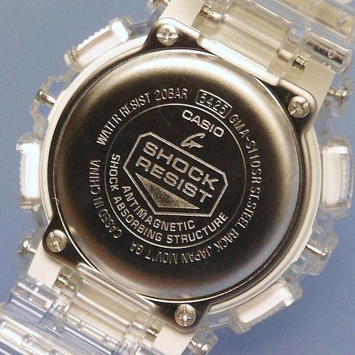 CASIO G-SHOCK アナログ・デジタル腕時計  GMA-S110SR-7AJF メンズ  ミッドサイズ  国内正規品