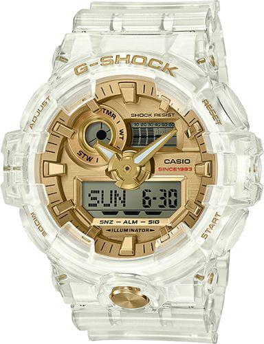 カシオGショック アナログ・デジタル腕時計  GA-735E-7AJR グレイシアルゴールド 35周年記念限定モデル メンズ 国内正規品