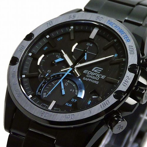 カシオ エディフィス ソーラー腕時計 EQB-1000XYDC-1AJF Slime Line スマートフォンリンク メンズ 国内正規品