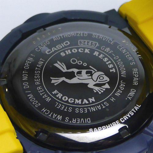 カシオGショック フロッグマン ソーラー電波腕時計 GWF-D1000NV-2JF メンズ 国内正規品 【動画有】