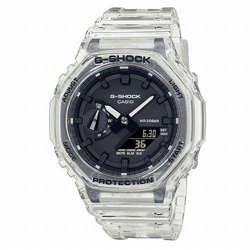 CASIO G-SHOCK アナログ・デジタル腕時計 GA-2100SKE-7AJF メンズ スケルトンシリーズ 限定品  国内正規品