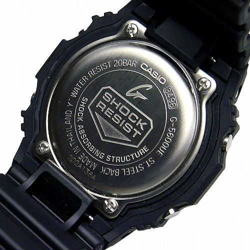 カシオGショック ソーラー腕時計 G-5600UE-1JF メンズ 国内正規品