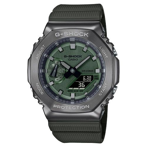 CASIO G-SHOCK アナログ・デジタル腕時計 GM-2100B-3AJF メンズ 限定品 国内正規品