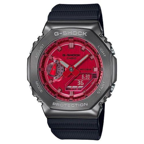 CASIO G-SHOCK アナログ・デジタル腕時計 GM-2100B-4AJF メンズ限定品  国内正規品