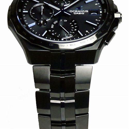 カシオ オシアナス マンタ Bluetooth搭載スマートフォンリンク ソーラー電波腕時計 OCW-S5000B-1AJF メンズ 3年保証 国内正規品