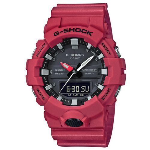 カシオGショック アナログ・デジタル腕時計  GA-800-4AJF  メンズ 国内正規品