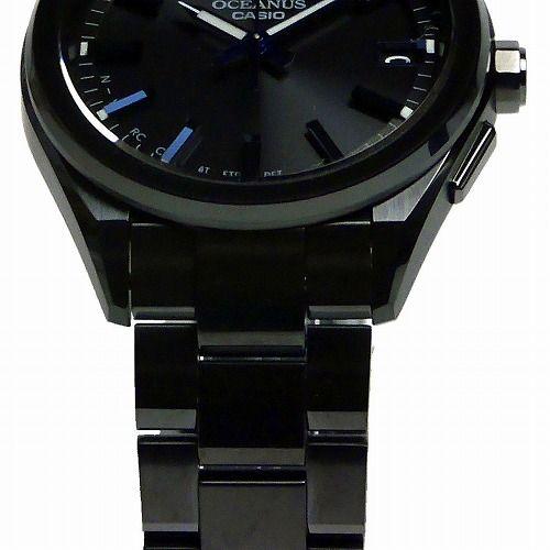 カシオ オシアナス ソーラー電波腕時計  CLASSIC LINE  OCW-T200SB-1AJF メンズ スマートフォンリンク 3年保証 国内正規品