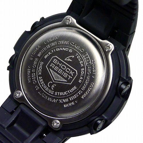 カシオGショック黒 ソーラー電波腕時計 AWG-M520BB-1AJF メンズ 国内正規品