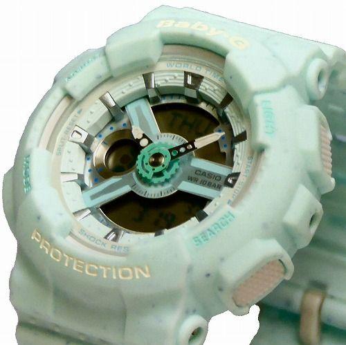 カシオ ベビーG アナ・デジ腕時計 BA-110PI-2AJF レディース Ice Cream Pastel Series 国内正規品