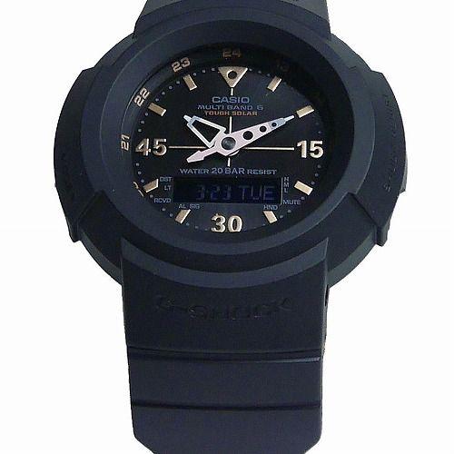 カシオGショック黒 ソーラー電波腕時計 AWG-M520G-1A9JF メンズ 国内正規品