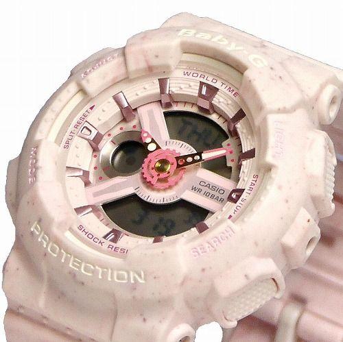 カシオ ベビーG アナ・デジ腕時計 BA-110PI-4AJF レディース Ice Cream Pastel Series 国内正規品