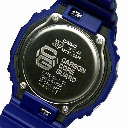 CASIO G-SHOCK アナログ・デジタル腕時計  GA-2100-2AJF メンズ 国内正規品