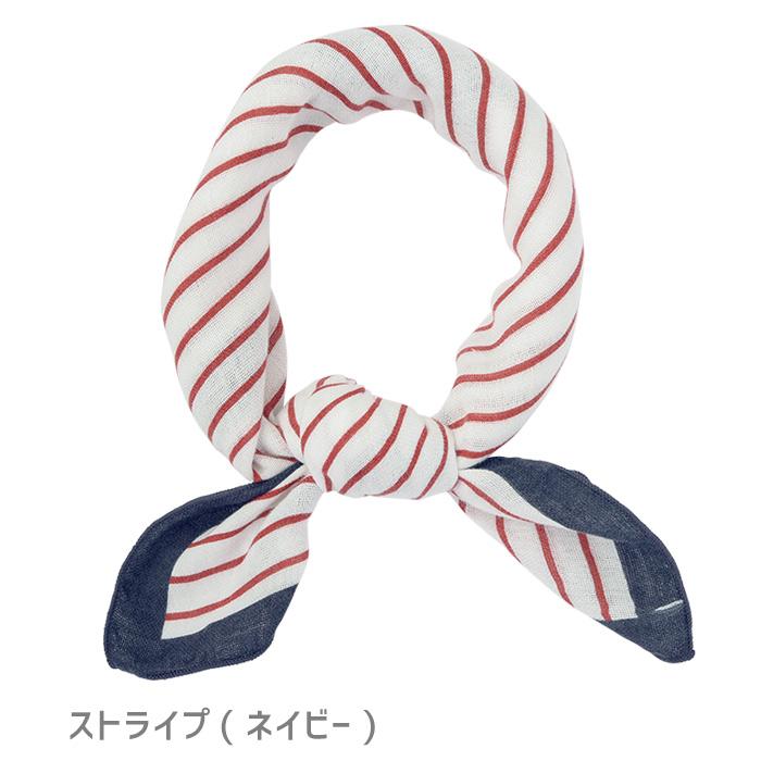 【今治タオル】コットンガーゼスカーフ