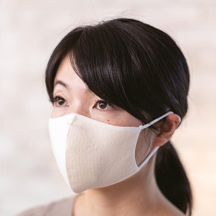 【寺田ニット:KURUMI FACTORY】シルクマスク