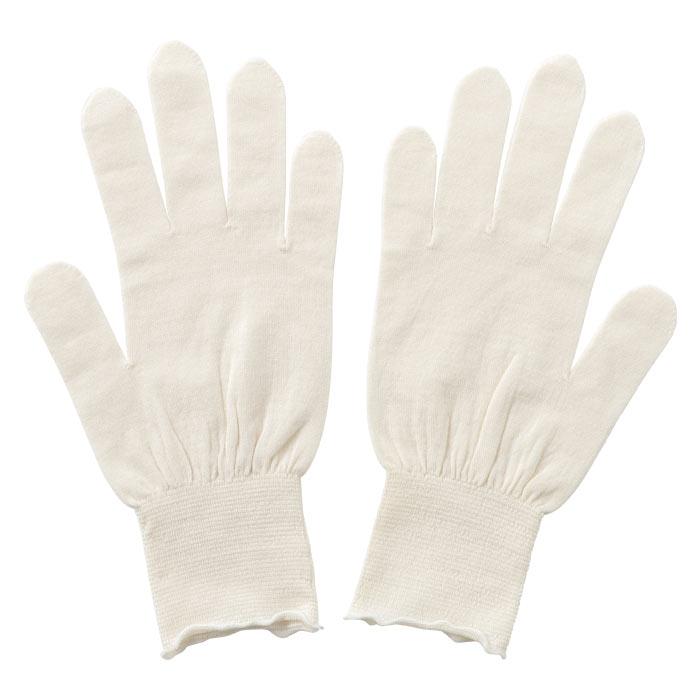 【寺田ニット:KURUMI FACTORY】シルク手袋 ショート