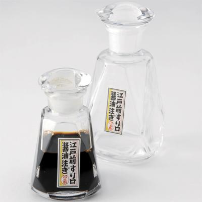 【江戸硝子】江戸前すり口醤油注ぎ(大)