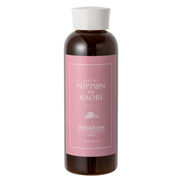 【純国産アロマ 日本の香りシリーズ】芳香浴液 (ダマスクバラ)