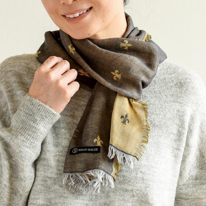 【JGファッション】マフラー フルール (お買い得品)