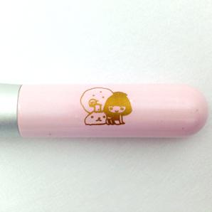 カピバラさん&田中里奈ちゃんコラボ ハートのチークブラシ 熊野化粧筆