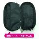 【POUCH009】ペンケース型ポーチ ブラック