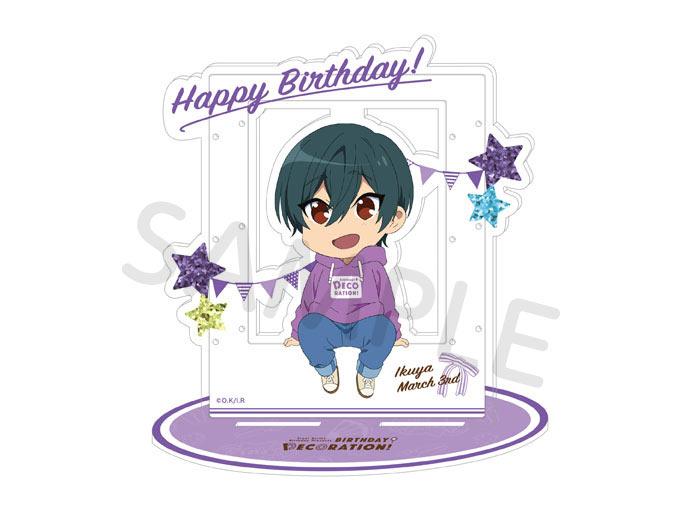 Free!シリーズ BIRTHDAY★DECORATION アクセサリーアクリルスタンド【郁弥】【在庫品】
