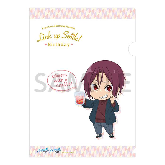 Free!シリーズ Link up Smile! BD クリアファイル【凛】【在庫品】