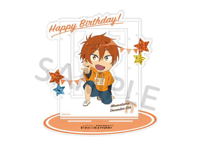 Free!シリーズ BIRTHDAY★DECORATION アクセサリーアクリルスタンド【百太郎】【在庫品】