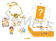 Free!シリーズ BIRTHDAY★DECORATION ハッピーデコレーションセット【旭】【在庫品】