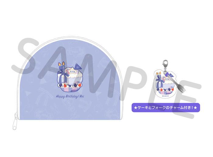 Free!シリーズ BIRTHDAY★DECORATION ポーチ【怜】【在庫品】