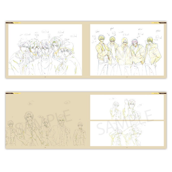 Free!DF OPENING and ENDING KEYFRAMES COLLECTION【在庫品】