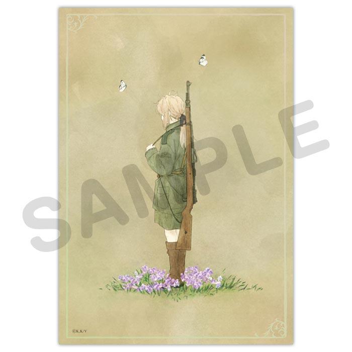 ヴァイオレット・エヴァーガーデン キャンバスアート【TypeC】【在庫品】