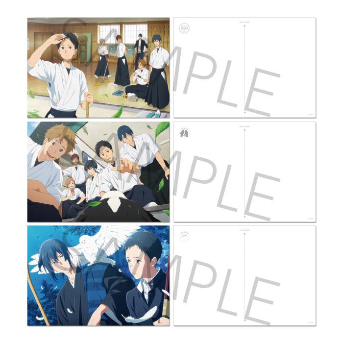 ツルネ —風舞高校弓道部— アートポストカードセット【在庫品】