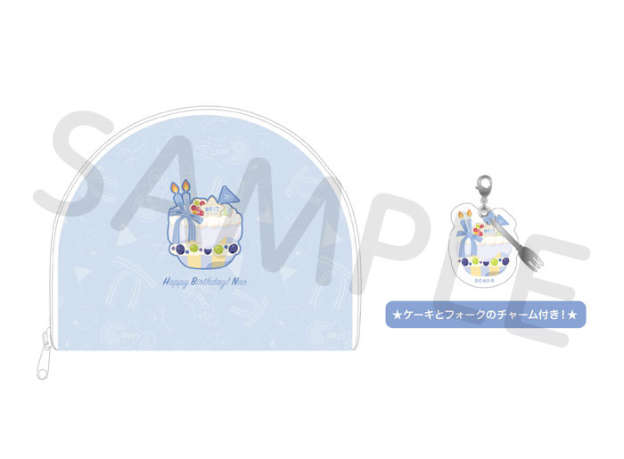 Free!シリーズ BIRTHDAY★DECORATION ポーチ【尚】【在庫品】