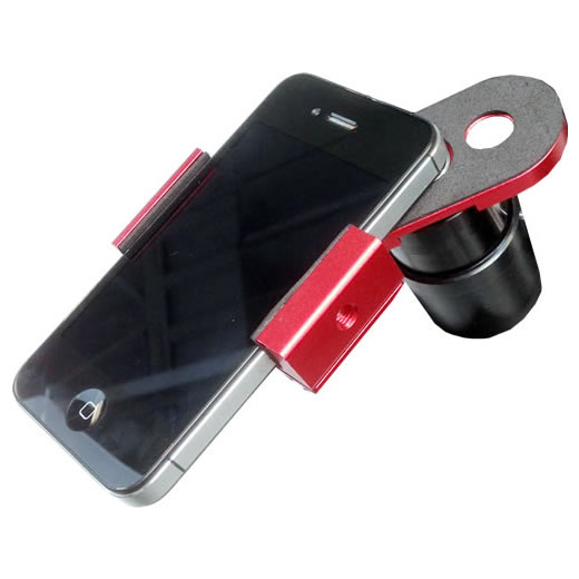 iOptron #8432 スマートフォンアイピースアダプター
