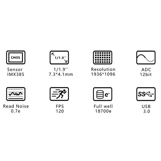 ZWO ASI 385MC(カラー/非冷却モデル)【即納】