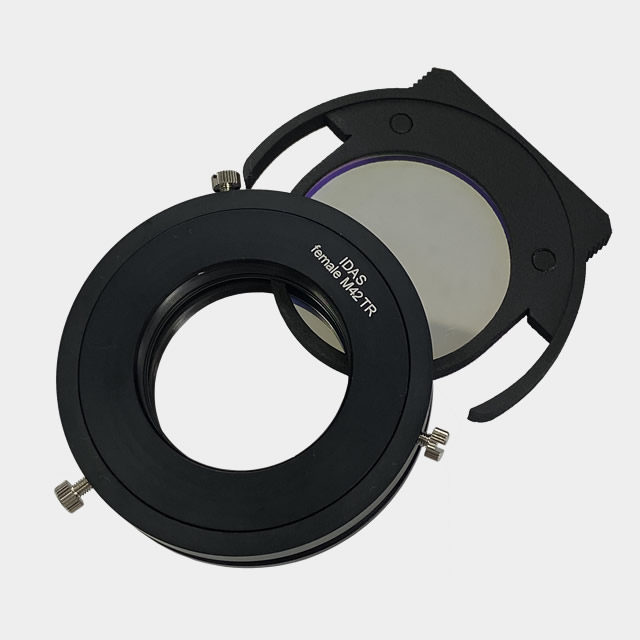 IDAS ドロップインフィルターアダプター・AD19.4(RASA8-ZWO製CMOSカメラ専用)