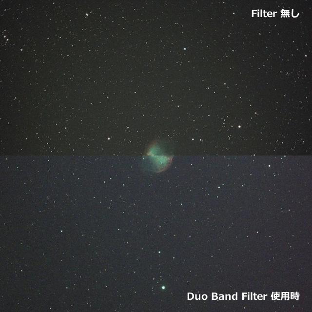 "ZWO Duo Band Filter 1.25"" (デュオバンドフィルター) 【即納】"