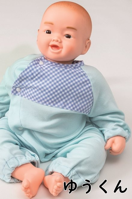 新生児抱き人形 「ゆうくん」・「あいちゃん」