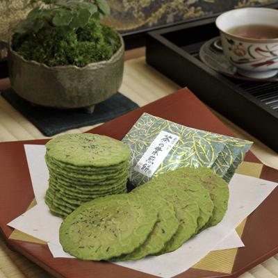 茶の葉煎餅 TSA